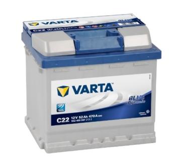 Varta 5524000473132 Starterbatterie 52 Ah -