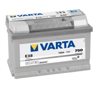 Varta 5744020753162 Starterbatterie 74 Ah -