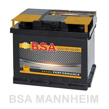 BSA Autobatterie  47 Ah -