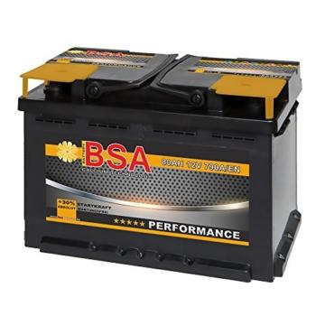 BSA Autobatterie 80 Ah -