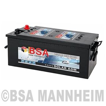 BSA Solar 150 Ah -