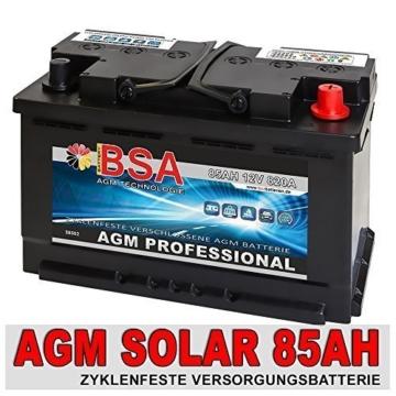 BSA Solar AGM 85 Ah -