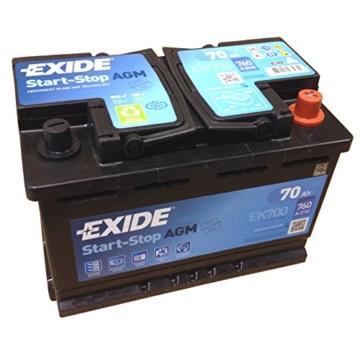 Exide AGM EK700 70 Ah -