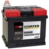 Autobatterie 12V 54Ah Starterbatterie KFZ PKW Batterie statt 44Ah 50Ah 52Ah 53Ah