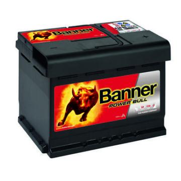 Autobatterie Banner POWER BULL 12V 60Ah P6009 ersetzt P5519 P6205 55Ah 62Ah