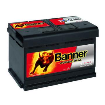 Banner Power Bull P7412 Autobatterie 12V 74Ah 680A Batterie statt 70Ah 72Ah 75Ah