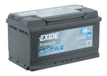 Exide EA852 Premium Carbon Boost 85 Ah 12V