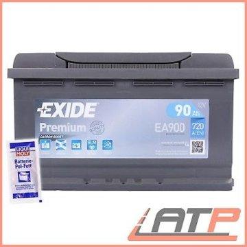 EXIDE PREMIUM CARBON BOOST 90AH 720A AUTO-BATTERIE STARTERBATTERIE 31964280