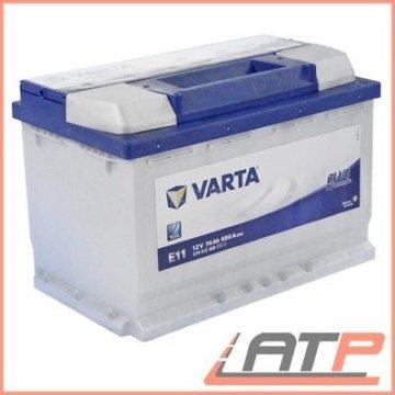 VARTA AUTO-BATTERIE 12V 74AH 680A ERSETZT 68-AH 69-AH 70-AH 71-AH 72-AH 31602803
