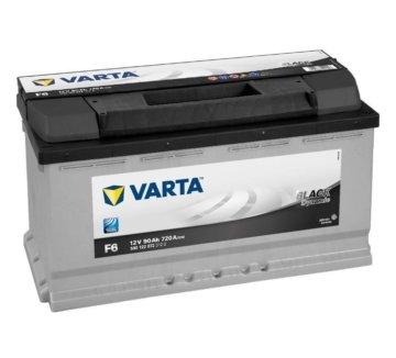 VARTA BLACK dynamic 590 122 072 3122 F6 12Volt 90Ah Starterbatterie